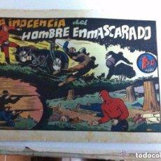 Tebeos: HOMBRE ENMASCARADO - LA INOCENCIA DEL HOMBRE ENMASCARADO. Lote 146581938