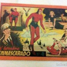 Tebeos: HOMBRE ENMASCARADO- ALBUM ROJO Nº. 4- COMPLETO - LOMO REPARADO. Lote 146582426