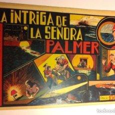 Tebeos: HOMBRE ENMASCARADO - LA INTRIGA DE LA SEÑORA PALMER (MUY BIEN CONSERVADO. Lote 146582574