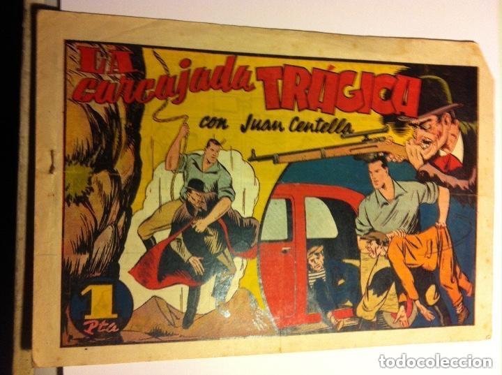 JUAN CENTELLA - LA CARCAJADA TRÁGICA-PICO ARRIBA (Tebeos y Comics - Hispano Americana - Juan Centella)