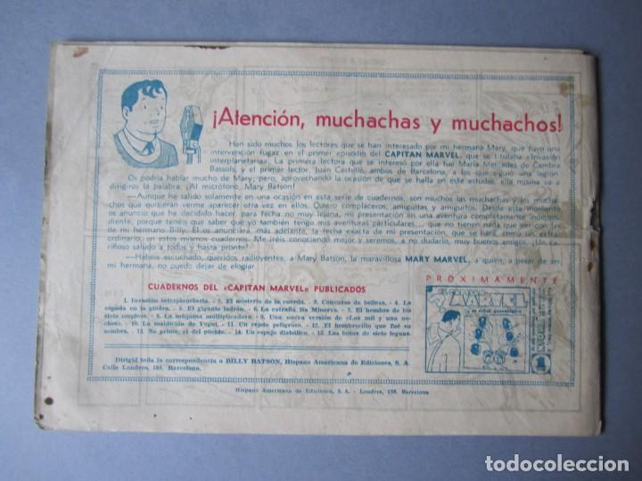 Tebeos: CAPITAN MARVEL, EL (1947, HISPANO AMERICANA) 15 · 1947 · LAS BOTAS DE SIETE LEGUAS - Foto 2 - 146654978
