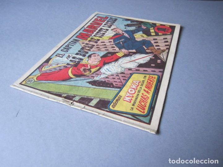 Tebeos: CAPITAN MARVEL, EL (1947, HISPANO AMERICANA) 15 · 1947 · LAS BOTAS DE SIETE LEGUAS - Foto 3 - 146654978
