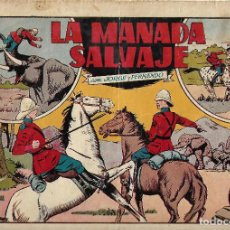 Tebeos: LA MANADA SALVAJE - ORIGINAL. Lote 146657902