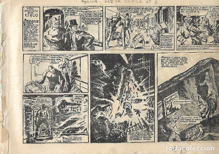 MERLIN EL MAGO - ORIGINAL (Tebeos y Comics - Hispano Americana - Hombre Enmascarado)