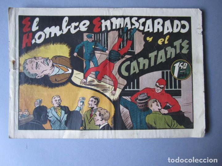 HOMBRE ENMASCARADO, EL (1941, HISPANO AMERICANA) 66 · 1941 · EL HOMBRE ENMASCARADO Y EL CANTANTE (Tebeos y Comics - Hispano Americana - Hombre Enmascarado)