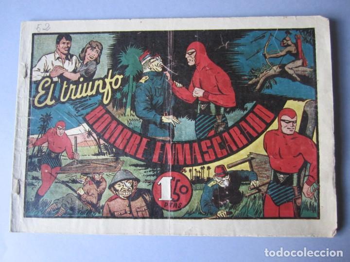 HOMBRE ENMASCARADO, EL (1941, HISPANO AMERICANA) 52 · 1941 · EL TRIUNFO DEL HOMBRE ENMASCARADO (Tebeos y Comics - Hispano Americana - Hombre Enmascarado)