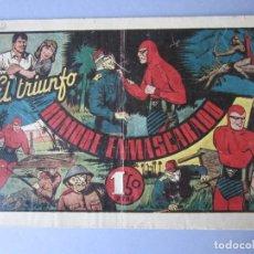 Tebeos: HOMBRE ENMASCARADO, EL (1941, HISPANO AMERICANA) 52 · 1941 · EL TRIUNFO DEL HOMBRE ENMASCARADO. Lote 146679494