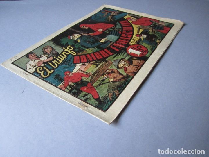 Tebeos: HOMBRE ENMASCARADO, EL (1941, HISPANO AMERICANA) 52 · 1941 · EL TRIUNFO DEL HOMBRE ENMASCARADO - Foto 3 - 146679494