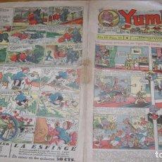 Tebeos: YUMBO AÑOS 30 NUMERO 88 VER FOTOS SOFABIBLIOTECA. Lote 146701578