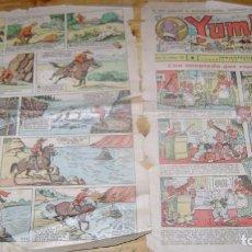 Tebeos: YUMBO AÑOS 30 NUMERO 62 VER FOTOS SOFABIBLIOTECA. Lote 146701642