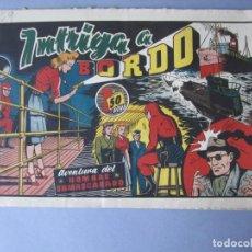 Tebeos: HOMBRE ENMASCARADO, EL (1941, HISPANO AMERICANA) 59 · 1941 · INTRIGA A BORDO. Lote 146714742