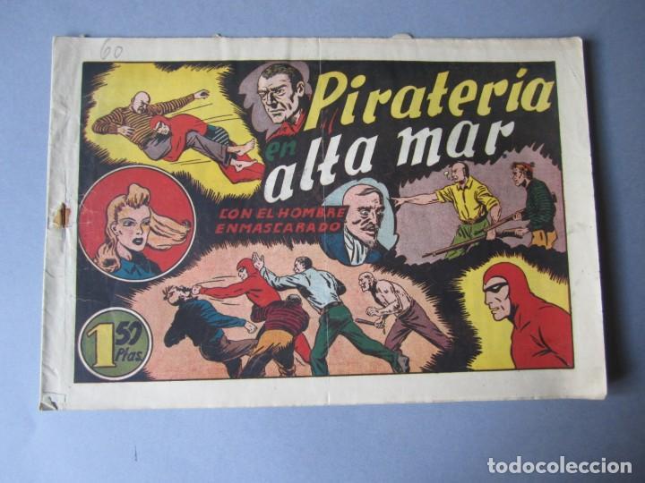 HOMBRE ENMASCARADO, EL (1941, HISPANO AMERICANA) 60 · 1941 · PIRATERÍA EN ALTA MAR (Tebeos y Comics - Hispano Americana - Hombre Enmascarado)