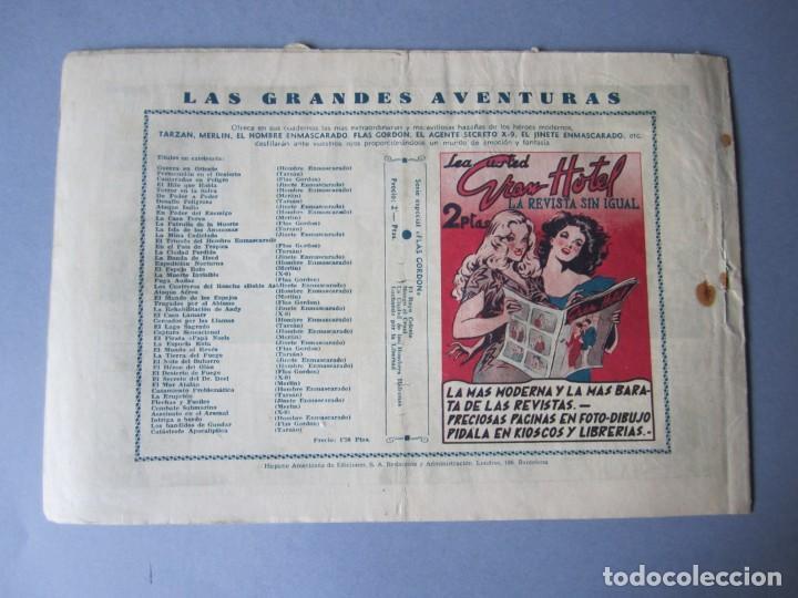 Tebeos: HOMBRE ENMASCARADO, EL (1941, HISPANO AMERICANA) 60 · 1941 · PIRATERÍA EN ALTA MAR - Foto 2 - 146716838