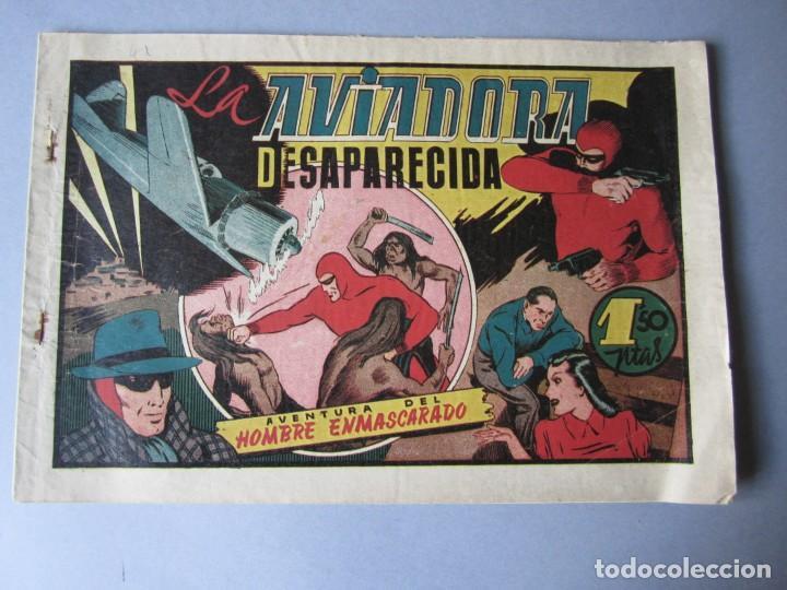 HOMBRE ENMASCARADO, EL (1941, HISPANO AMERICANA) 41 · 1941 · LA AVIADORA DESAPARECIDA (Tebeos y Comics - Hispano Americana - Hombre Enmascarado)