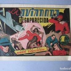 Tebeos: HOMBRE ENMASCARADO, EL (1941, HISPANO AMERICANA) 41 · 1941 · LA AVIADORA DESAPARECIDA. Lote 146717014