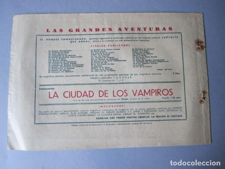 Tebeos: HOMBRE ENMASCARADO, EL (1941, HISPANO AMERICANA) 41 · 1941 · LA AVIADORA DESAPARECIDA - Foto 2 - 146717014