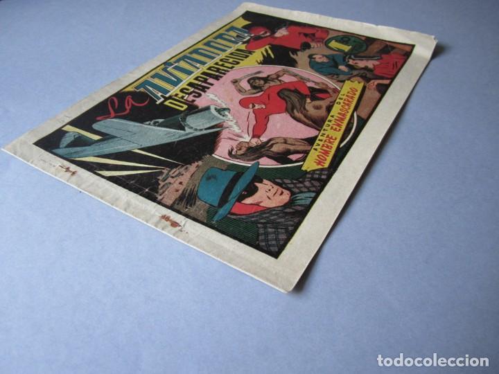Tebeos: HOMBRE ENMASCARADO, EL (1941, HISPANO AMERICANA) 41 · 1941 · LA AVIADORA DESAPARECIDA - Foto 3 - 146717014