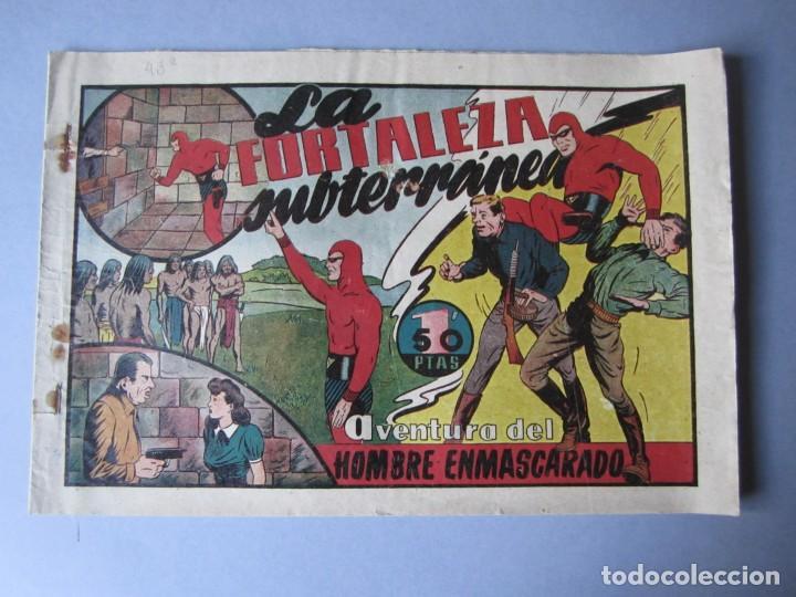 HOMBRE ENMASCARADO, EL (1941, HISPANO AMERICANA) 43 · 1941 · LA FORTALEZA SUBTERRANEA (Tebeos y Comics - Hispano Americana - Hombre Enmascarado)