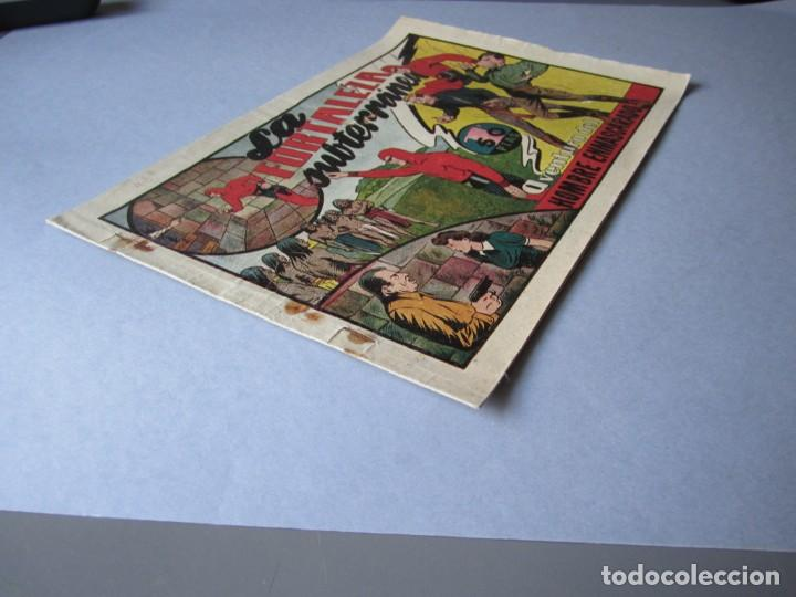 Tebeos: HOMBRE ENMASCARADO, EL (1941, HISPANO AMERICANA) 43 · 1941 · LA FORTALEZA SUBTERRANEA - Foto 3 - 146717282