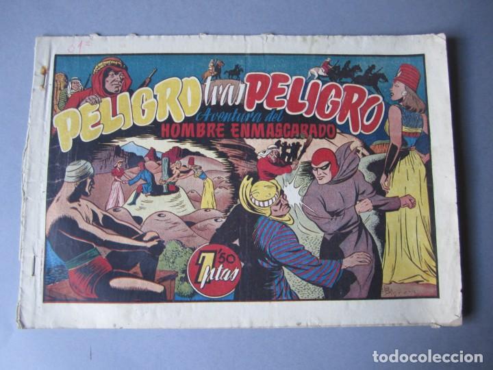 HOMBRE ENMASCARADO, EL (1941, HISPANO AMERICANA) 31 · 1941 · PELIGRO TRAS PELIGRO (Tebeos y Comics - Hispano Americana - Hombre Enmascarado)