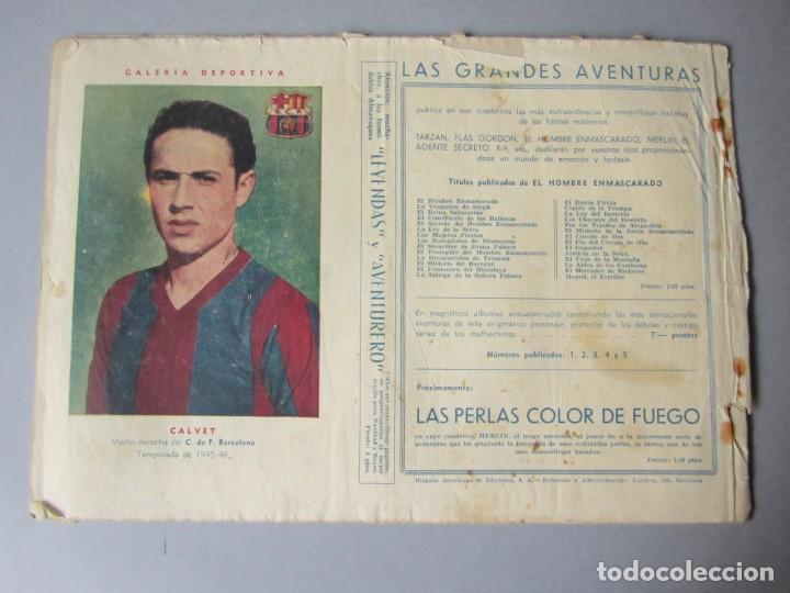 Tebeos: HOMBRE ENMASCARADO, EL (1941, HISPANO AMERICANA) 31 · 1941 · PELIGRO TRAS PELIGRO - Foto 2 - 146718302