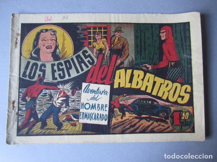 HOMBRE ENMASCARADO, EL (1941, HISPANO AMERICANA) 32 · 1941 · LOS ESPIAS DEL ALBATROS (Tebeos y Comics - Hispano Americana - Hombre Enmascarado)