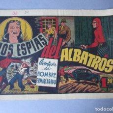 Tebeos: HOMBRE ENMASCARADO, EL (1941, HISPANO AMERICANA) 32 · 1941 · LOS ESPIAS DEL ALBATROS. Lote 146718938