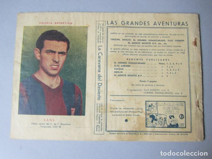 Tebeos: HOMBRE ENMASCARADO, EL (1941, HISPANO AMERICANA) 32 · 1941 · LOS ESPIAS DEL ALBATROS - Foto 2 - 146718938