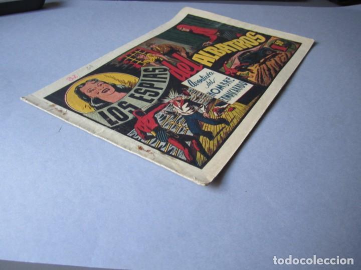 Tebeos: HOMBRE ENMASCARADO, EL (1941, HISPANO AMERICANA) 32 · 1941 · LOS ESPIAS DEL ALBATROS - Foto 3 - 146718938