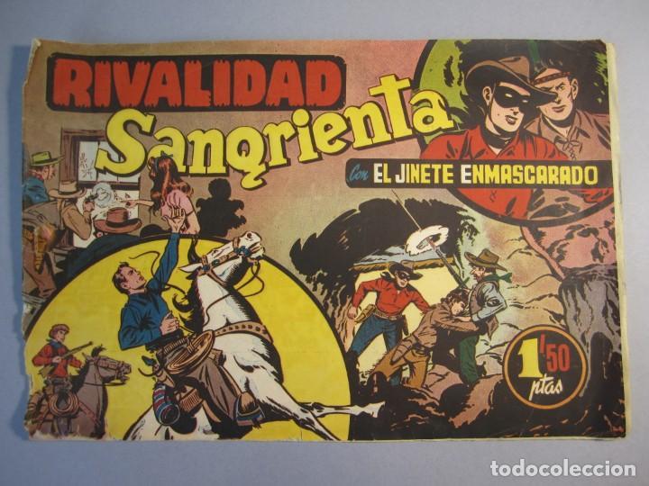 JINETE ENMASCARADO, EL (1943, HISPANO AMERICANA) 29 ·1943 ·RIVALIDAD SANGRIENTA ¡¡¡ÚLTIMO!!! (Tebeos y Comics - Hispano Americana - Otros)