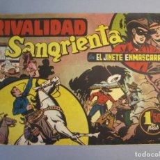 Tebeos: JINETE ENMASCARADO, EL (1943, HISPANO AMERICANA) 29 ·1943 ·RIVALIDAD SANGRIENTA ¡¡¡ÚLTIMO!!!. Lote 146785698