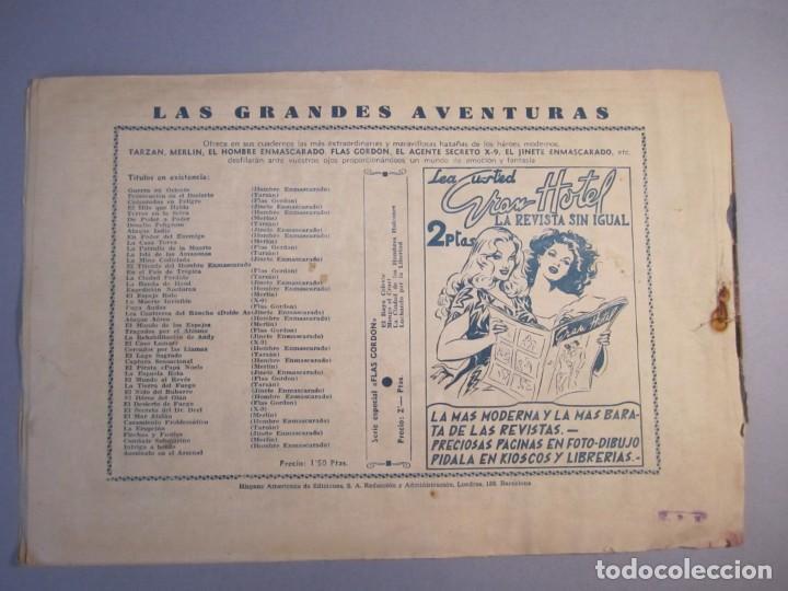 Tebeos: JINETE ENMASCARADO, EL (1943, HISPANO AMERICANA) 29 ·1943 ·RIVALIDAD SANGRIENTA ¡¡¡ÚLTIMO!!! - Foto 2 - 146785698