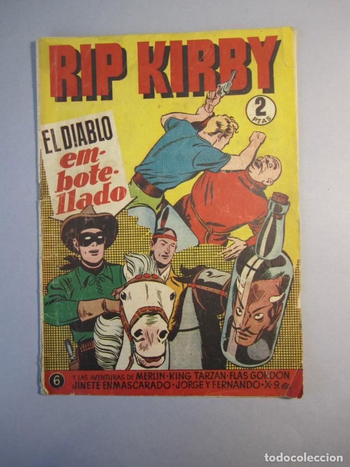 RIP KIRBY (1948, HISPANO AMERICANA) 6 · 1948 (Tebeos y Comics - Hispano Americana - Otros)