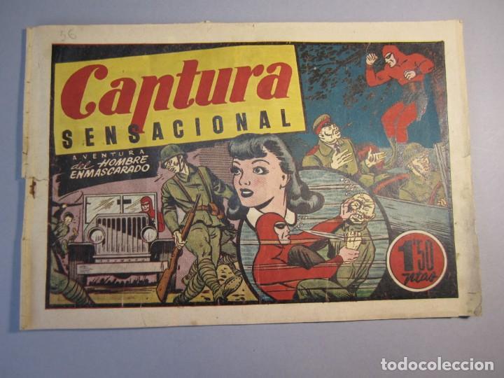 HOMBRE ENMASCARADO, EL (1941, HISPANO AMERICANA) 56 · 1941 · CAPTURA SENSACIONAL (Tebeos y Comics - Hispano Americana - Hombre Enmascarado)