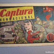 Tebeos: HOMBRE ENMASCARADO, EL (1941, HISPANO AMERICANA) 56 · 1941 · CAPTURA SENSACIONAL. Lote 146792118
