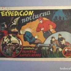 Tebeos: HOMBRE ENMASCARADO, EL (1941, HISPANO AMERICANA) 53 · 1941 · EXPEDICIÓN NOCTURNA. Lote 146792534