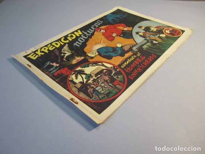 Tebeos: HOMBRE ENMASCARADO, EL (1941, HISPANO AMERICANA) 53 · 1941 · EXPEDICIÓN NOCTURNA - Foto 3 - 146792534