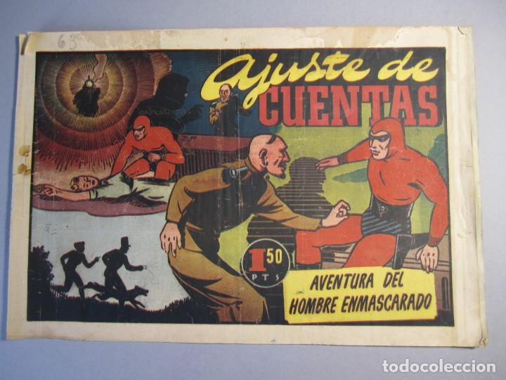 HOMBRE ENMASCARADO, EL (1941, HISPANO AMERICANA) 63 · 1941 · AJUSTE DE CUENTAS (Tebeos y Comics - Hispano Americana - Hombre Enmascarado)