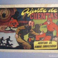 Tebeos: HOMBRE ENMASCARADO, EL (1941, HISPANO AMERICANA) 63 · 1941 · AJUSTE DE CUENTAS. Lote 146797322