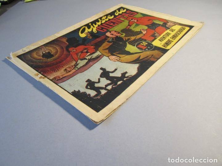 Tebeos: HOMBRE ENMASCARADO, EL (1941, HISPANO AMERICANA) 63 · 1941 · AJUSTE DE CUENTAS - Foto 3 - 146797322