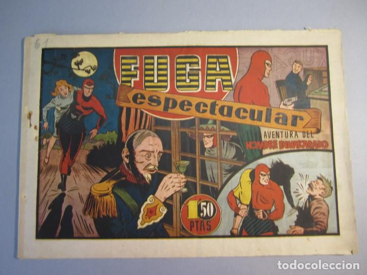 HOMBRE ENMASCARADO, EL (1941, HISPANO AMERICANA) 61 · 1941 · FUGA ESPECTACULAR (Tebeos y Comics - Hispano Americana - Hombre Enmascarado)