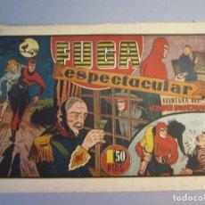 Tebeos: HOMBRE ENMASCARADO, EL (1941, HISPANO AMERICANA) 61 · 1941 · FUGA ESPECTACULAR. Lote 146797642