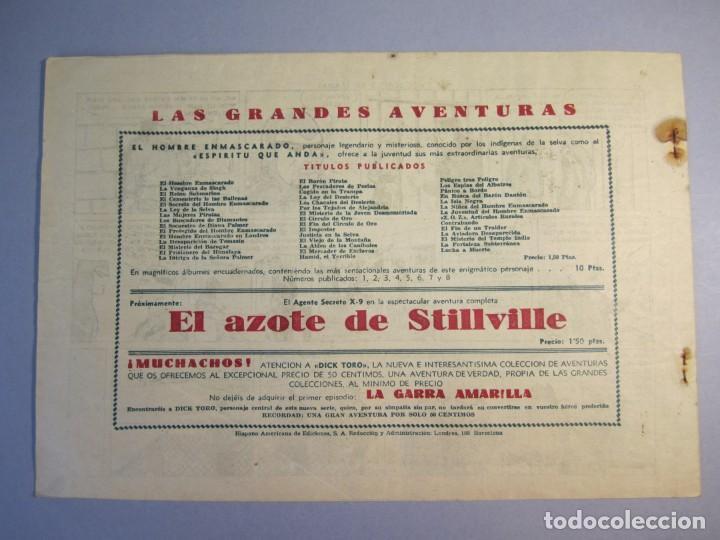 Tebeos: HOMBRE ENMASCARADO, EL (1941, HISPANO AMERICANA) 45 · 1941 · EL BOSQUE EN LLAMAS - Foto 2 - 146798850