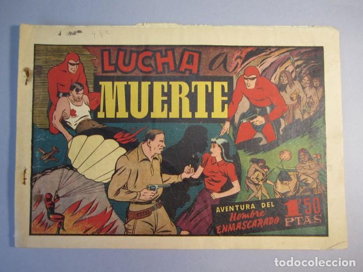 HOMBRE ENMASCARADO, EL (1941, HISPANO AMERICANA) 44 · 1941 · LUCHA A MUERTE (Tebeos y Comics - Hispano Americana - Hombre Enmascarado)