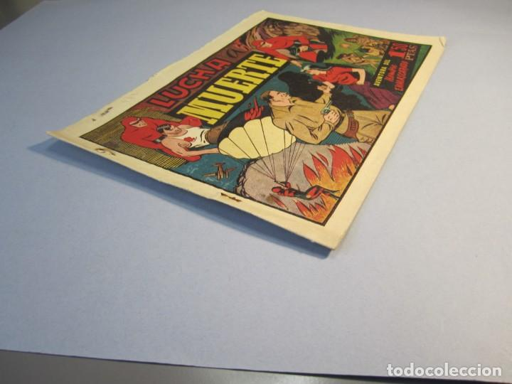 Tebeos: HOMBRE ENMASCARADO, EL (1941, HISPANO AMERICANA) 44 · 1941 · LUCHA A MUERTE - Foto 3 - 146799046