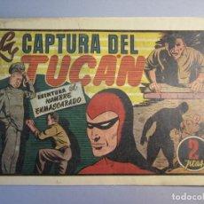 Tebeos: HOMBRE ENMASCARADO, EL (1941, HISPANO AMERICANA) 48 · 1941 · LA CAPTURA DEL TUCÁN. Lote 146800154