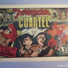 Tebeos: HOMBRE ENMASCARADO, EL (1941, HISPANO AMERICANA) 47 · 1941 · PERSECUCION SIN CUARTEL. Lote 146800386