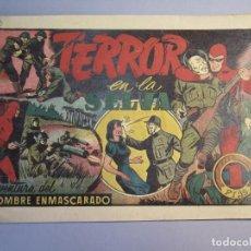 Tebeos: HOMBRE ENMASCARADO, EL (1941, HISPANO AMERICANA) 50 · 1941 · TERROR EN LA SELVA. Lote 146801266