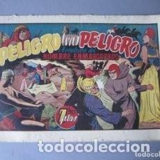 Tebeos: HOMBRE ENMASCARADO, EL (1941, HISPANO AMERICANA) 31 · 1941 · PELIGRO TRAS PELIGRO. Lote 146911170