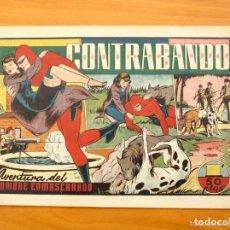 Comics - HOMBRE ENMASCARADO, EL (1941, HISPANO AMERICANA) Nº39 · 1941 ·CONTRABANDO - 146913498